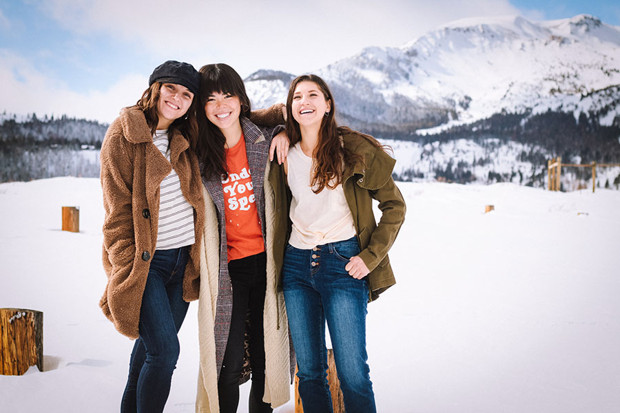 Women's fashion boutique in Mammoth Lakes, California